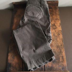 Banana Republic military cargo pants, boot cut